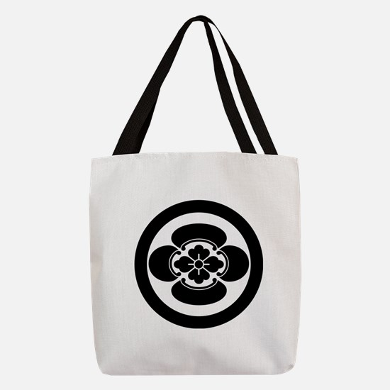 Mokko in a circle Polyester Tote Bag