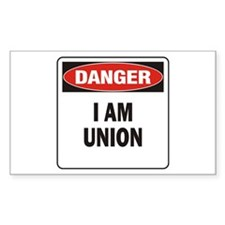 Danger Union Decal