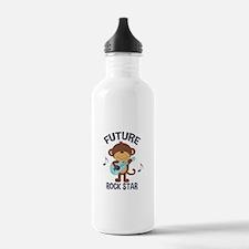 Future Rock Star Monkey with Guitar Water Bottle