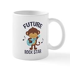 Future Rock Star Monkey with Guitar Mugs