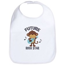 Future Rock Star Monkey with Guitar Bib