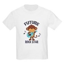 Future Rock Star Monkey with Guitar T-Shirt