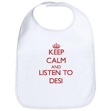 Keep calm and listen to DESI Bib