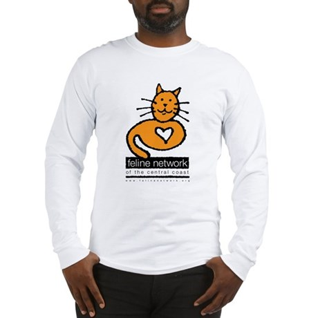 Feline Network Logo - Long Sleeve T-Shirt