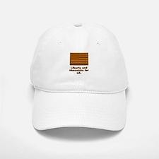 Liberty & Chocolate Baseball Baseball Cap