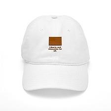 Liberty & Chocolate Baseball Cap
