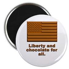 Liberty & Chocolate Magnet