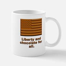 Liberty & Chocolate Mug