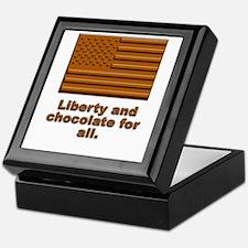 Liberty & Chocolate Keepsake Box