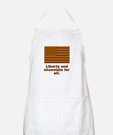 Liberty & Chocolate BBQ Apron