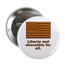 Liberty & Chocolate Button