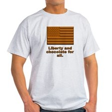 Liberty & Chocolate T-Shirt