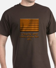 Liberty & Chocolate T-Shirt