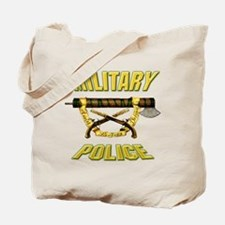 Military Police Fascia w Crossed Pistols Tote Bag