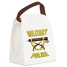 Military Police Fascia w Crossed Pistols Canvas Lu