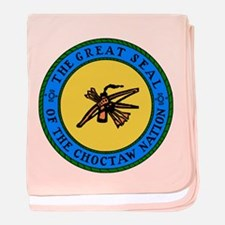 Great Seal Of The Choctaw Nation Baby Blanket