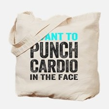 Punch Cardio In The Face Tote Bag
