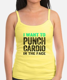 Punch Cardio In The Face Tank Top