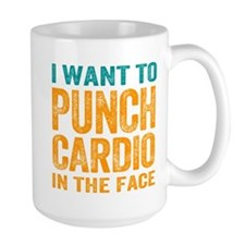 Punch Cardio In The Face Mugs