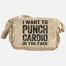 Punch Cardio In The Face Messenger Bag