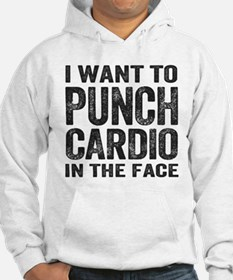 Punch Cardio In The Face Hoodie