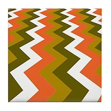 Fast Lane Earthy Jags Tile Coaster
