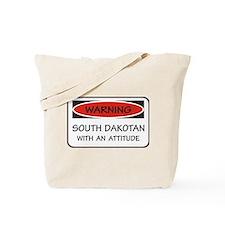 Attitude South Dakotan Tote Bag