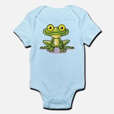 Cute Green Frog Body Suit