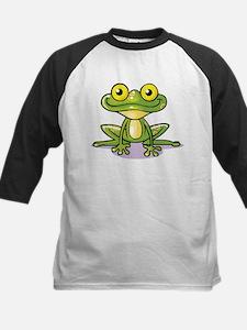 Cute Green Frog Baseball Jersey