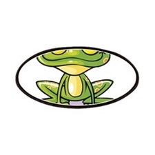 Cute Green Frog Patches