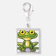 Cute Green Frog Charms