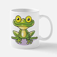 Cute Green Frog Mugs