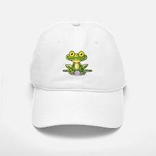 Cute Green Frog Baseball Baseball Baseball Cap