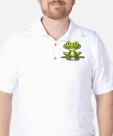 Cute Green Frog T-Shirt
