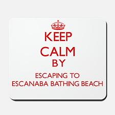 Keep calm by escaping to Escanaba Bathing Beach Mi