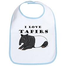 Smiling Tapir Bib