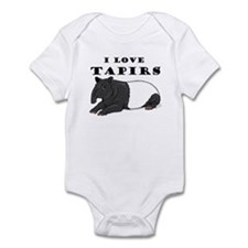 Smiling Tapir Infant Bodysuit