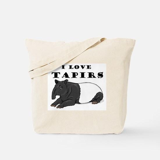 Smiling Tapir Tote Bag
