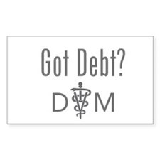 Got Debt - DVM Decal