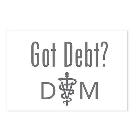 Got Debt - DVM Postcards (Package of 8)