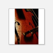 Cello Notes Sticker