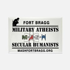 Mash Ft. Bragg Logo Magnets
