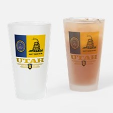 Utah DTOM Drinking Glass