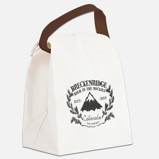 Breckenridge Rustic Canvas Lunch Bag