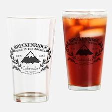 Breckenridge Rustic Drinking Glass