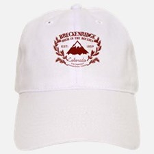 Breckenridge Rustic Baseball Baseball Cap