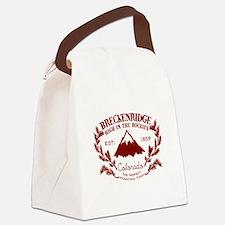 Breckenridge Rustic Canvas Lunch Bag