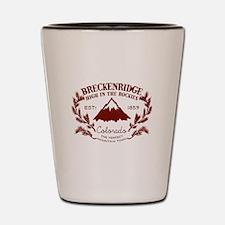 Breckenridge Rustic Shot Glass