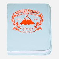 Breckenridge Rustic baby blanket