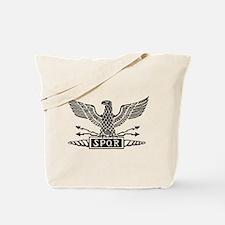 Roman Eagle 2 Basic Blk Tote Bag